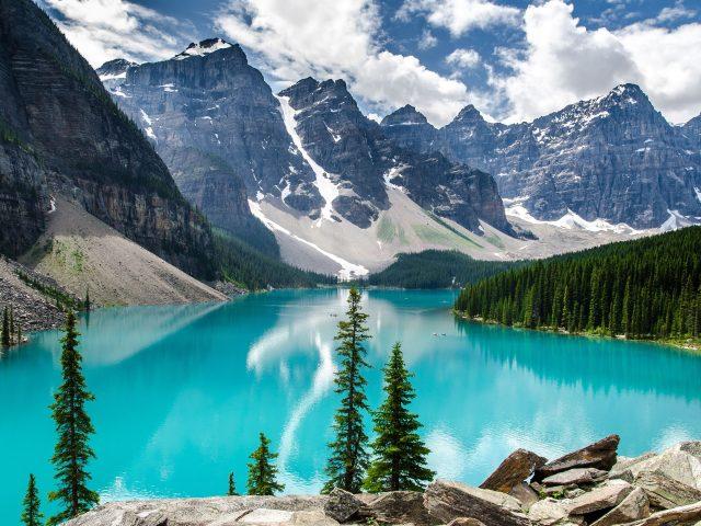 Vacanta in Canada-Parcul National Banff, 473 euro/p (zbor+cazare 8 nopti)